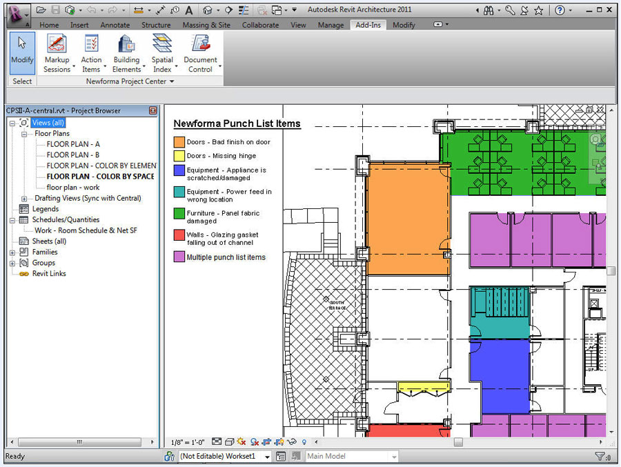 Newforma Adds Mobile Functionality Revit Connectivity