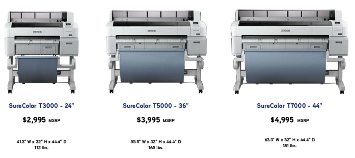 Epson Leaps into CAD Market with Wide-Format Printers | Cadalyst