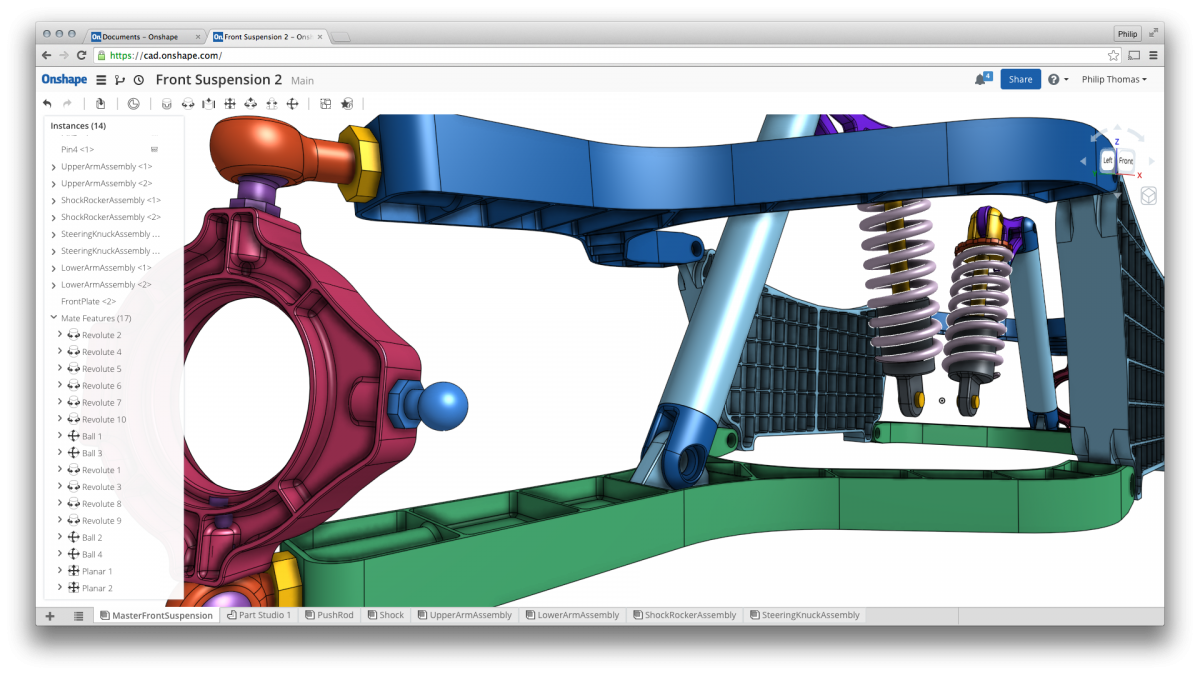Onshape Offers A New Paradigm For Cad Collaboration Cadalyst