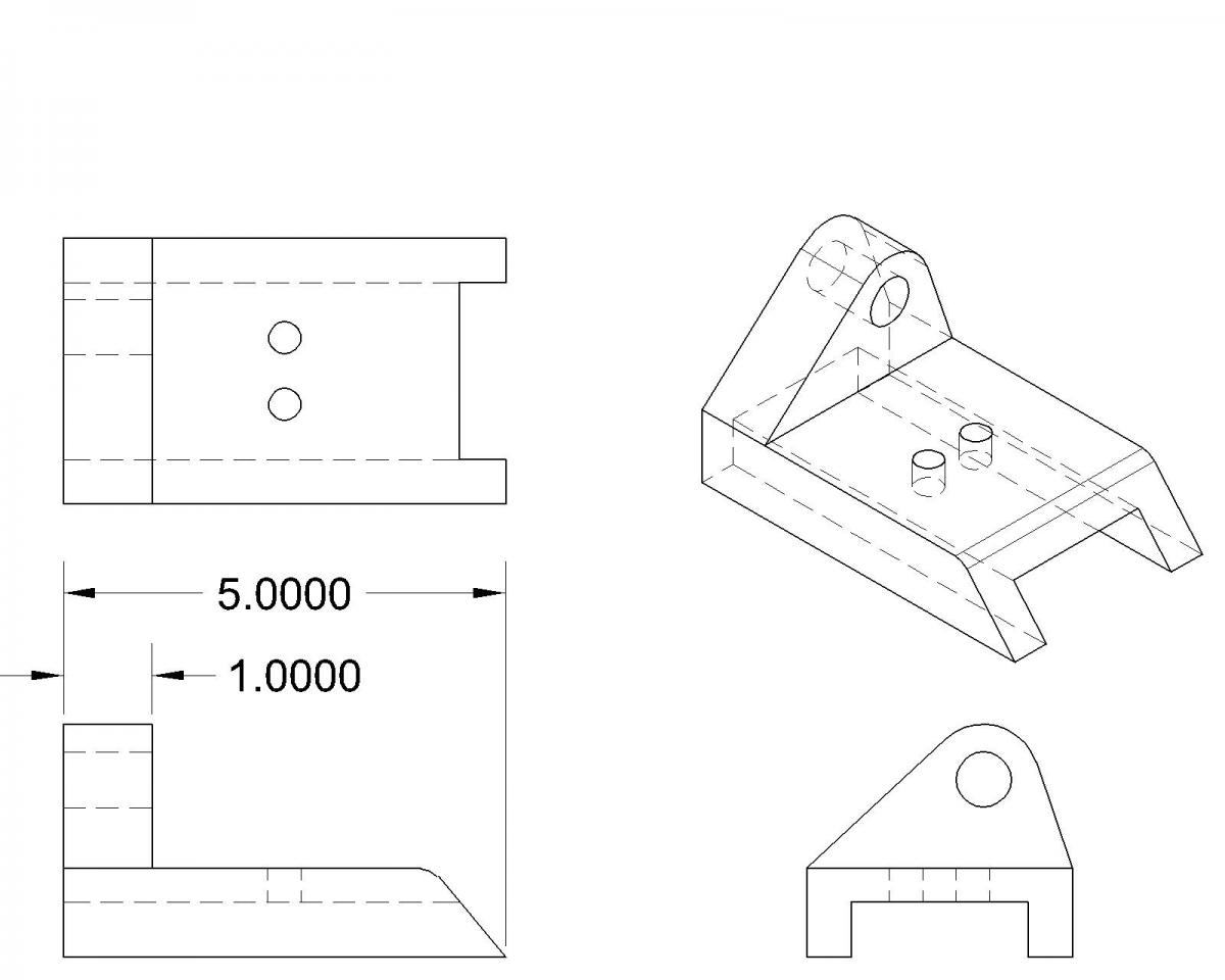 Yet Another Way to Go from 3D to 2D in AutoCAD | Cadalyst