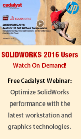 Free Webinar on Demand: Optimize SolidWorks 2016