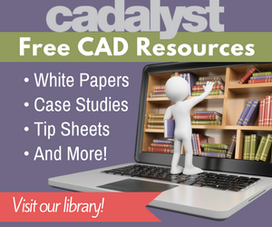 Visit Cadalyst's Library for free CAD resources