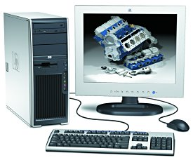Hewlett-Packard xw4100 workstation