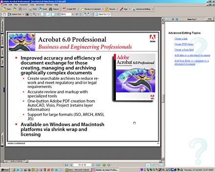 Adobe acrobat download.