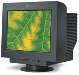IBM's ThinkVision C220p monitor is well designed and well engineered. It earned a 5-star Highly Recommended rating.