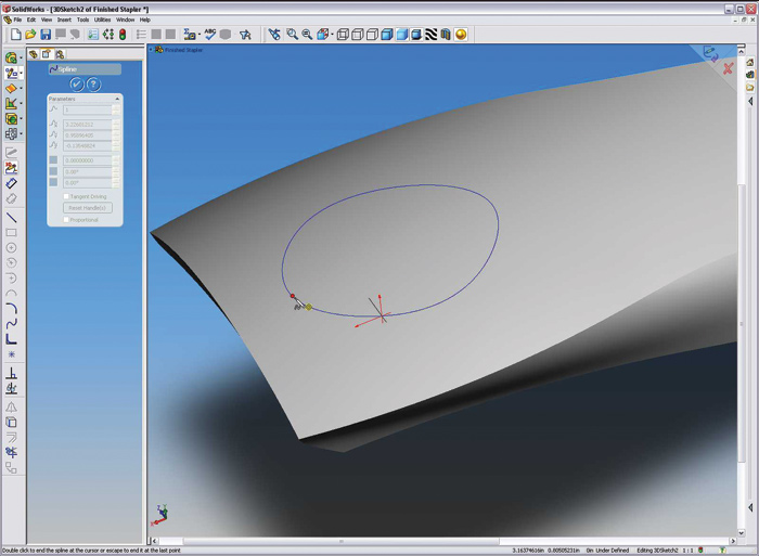 SolidWorks 2005: Parts and Assemblies Volumes 1 and 2 (Training Manual)