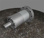 Wheat Design Service designed this magnetically coupled rotary using Alibre Design Professional.