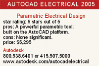 Autocad electrical 2005