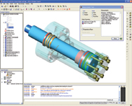 Figure 2. With a click of a button, users can start a live collaborative support session with the Alibre Assistant over the Internet.