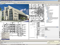 Figure 1. Designed specifically for architects and built on AutoCAD, Architectural Desktop delivers automated documentation, intelligent architectural objects, and file-based collaboration.