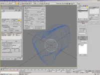 Figure 1. 3ds max 7 can show project mapping coordinates and other vertex channel information between any two objects.