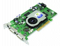 The NVIDIA FX 1100 midrange card balances good performance with a reasonable price.