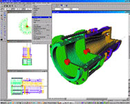 IMSI Software's DesignCAD 3D Max 14 offers tools for 3D solid modeling, 2D drafting and design, 3D texture mapping, 3D dimensioning, and 3D animation and rendering.