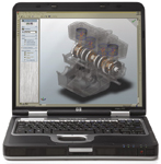 The Hewlett-Packard nw8000 Mobile Workstation is excellent for CAD and engineering applications.