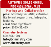AUTOVUE SOLIDMODEL PROFESSIONAL V18