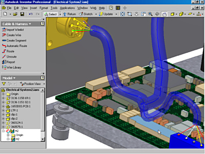 fig3 import electrical intent into autodesk inventor professional Aircraft Electrical Harness at suagrazia.org