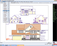 General CADD v3.1 is a 2D CAD application that offers an array of new features, including support for AutoCAD 2004 drawings.