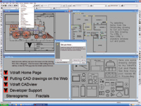IntelliCAD 5 Standard Edition offers an array of drawing tools and uses DWG as its native file format.
