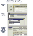 Figure 3. With the need to accommodate different languages, cultures and working environments, the PTC Windchill interface for project management needed to be simple, clear and easy to use.
