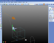 Figure 3.  3D curve functionality is now included in base Designer Modeling with enhanced CoPilots for 3D curve creation and modification.