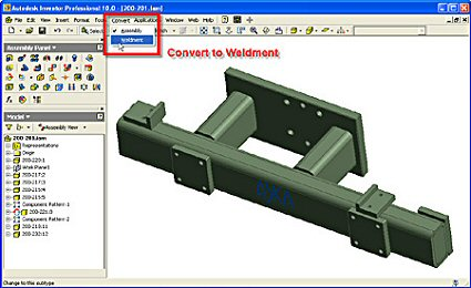 how to make inventor drawing full screen