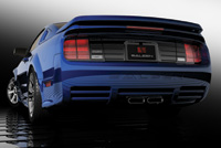 Saleen S281 Mustang was rendered in Flamingo. Designed and modeled by Phil Frank (<a href=