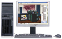 The HP xw4300 workstation offers flexibility and midrange performance at an affordable price.