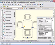 This two-minute Camtasia Studio video shows how to use the new dynamic block authoring environment in AutoCAD 2006