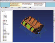 Alibre Design s Xpress is a free parametric modeler used to create solid models, build assemblies and then generate 2D drawings.