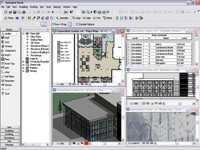 Figure 3. Specifically designed for building information modeling, Autodesk Revit provides bidirectional change capability.