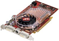 The ATI FireGL V7100 midrange PCI Express graphics card incorporates 256MB of onboard GDDR3 memory