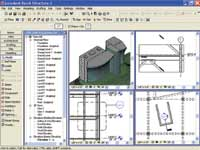 Figure 1. Within Revit, all views of the model are live and can be changed.