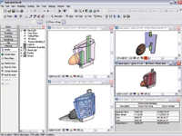 Figure 2. Building Maker is Revit 8s 3D conceptual design tool. All of the conceptual model information can be reused during the construction documentation phase.