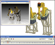Figure 1. Inventor Studio provides rendering and animation capabilities within the Inventor design environment.
