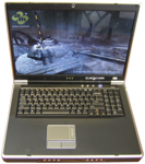The Eurocom D900T incorporates standard workstation components, which pay off in performance but tax battery life.