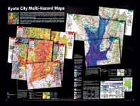 Figure 1. The Kyoto City Multi-Hazard Maps by Kyoto University were selected by a review team as Best Overall Map at the 2005 ESRI event. View more winning entries at www.esri.com/events/uc/.