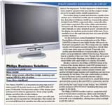Philips 230W5VS widescreen LCD display
