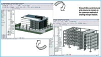 Figure 2. Revit Structure helps engineers structurally analyze part or all of a building with bidirectional linking to third-party analysis software such as ETABS, RISA-3D and ROBOT Millennium.