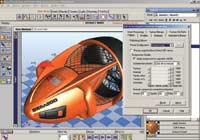 NuGraf offers import and export to the U3D file format used by Adobe Acrobat 7 for display of 3D information.