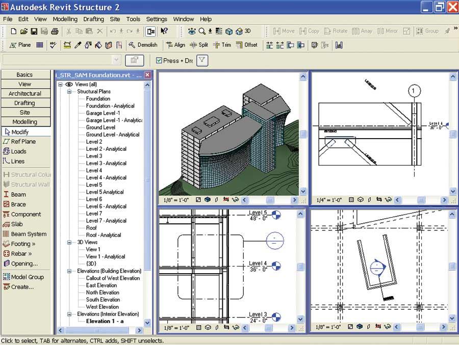 Cadalyst Labs Review: Autodesk Revit Structure 2-Digital