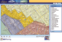 Figure 1. The City of Vallejo implemented an enterprise GIS so that it could allow city staff, residents and business owners access to data.