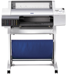 "Epson's Stylus Pro 7600 is a 24"" wide-format printer priced at a reasonable $2,995."