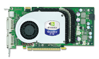 The NVIDIA Quadro FX3450 is a moderately priced PCI Express workstation-level graphics accelerator with 256MB of onboard GDDR3 memory.