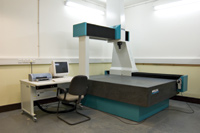 Figure 3. A coordinate measuring machine (in this case a Wenzel) uses a probe to touch the surface of a physical model and record the position of contact. This is the most accurate type of 3D input device.