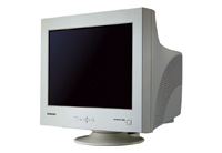 Figure 3. CRTs are big and heavy. They also are some of the brightest displays you can get.