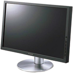 Figure 4. LCDs are thin and lightweight. They provide wonderful performance and extra room on your desk.