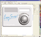 Figure 4. CorelDRAW Graphics Suite, and CorelDRAW in particular, produces very good graphics. It s useful for labels and electronic overlay art.