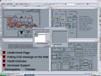 SoftSource s Vdraft offers direct AutoCAD drawing support, yet is easier to learn and use than AutoCAD.