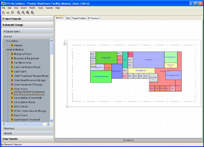 Archicad insights affinity for archicad cadalyst the schematic design view in affinity compares the floor plan to the actual design ccuart Choice Image