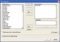 Figure 4. Object class mapping dialog box.